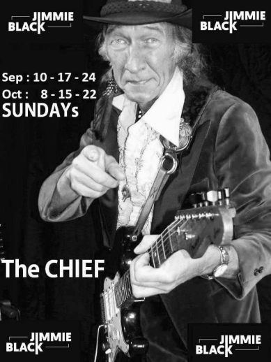 The Chief at Jimmie Blacks