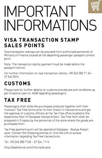 Mahmutlar IMPORTANT Alanya-Gazipasa Airport Guide
